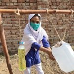 Tippy Taps: Easy to build handwashing stations deployed in rural villages of Pakistan