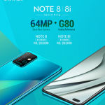 Infinix Note 8, announced with 64MP quad camera and a MediaTek HelioG80