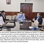 GOOD NEWS FOR STUDENTS – Sindh Education and Literacy Department (SELD) and NOON partners to bring free quality E-learning for Matric & Intermediate students
