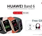 The HUAWEI BAND 6 opens Pre-bookings Nationwide
